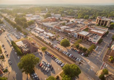 Downtown Hickory | Evening Sunset